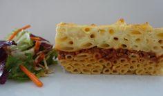 Pastitsio - Griechischer Nudelauflauf