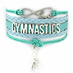 Anyone who's a true student of gymnastics knows the discipline and dedication such a sport demands. For the person who practices it, wearing this bracelet will elicit silent respect. Gymnastics Room, Gymnastics Quotes, Gymnastics Workout, Gymnastics Outfits, Gymnastics Pictures, Gymnastics Leotards, Gymnastics Stuff, Ballet Leotards, Kids Leotards