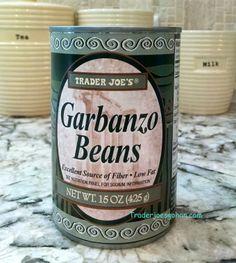 Trader Joe's garbanzo Beans 425g $0.89 トレーダージョーズ  ガルバンゾビーンズ // トレーダージョーズのココナッツミルクとひよこ豆とスイートポテトのカレーのレシピ