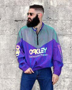 Track Jackets & Windbreakers | Vintage Fashion Dope Jackets, Vintage Windbreaker, Mode Vintage, Oakley, Street Wear, Angels, Track, Vintage Fashion, Mens Fashion
