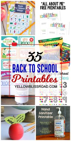 35 Back to School pr