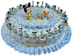 Torta bomboniera con  Paperino e Topolino 5 confetti a scelta inclusi nel prezzo. Disponibile dal 10/01/2016 #paperino #topolino #torta #bomboniere #disney