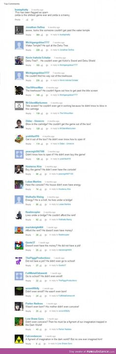 Greatest youtube thread ever !