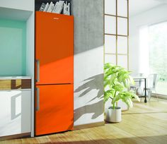 Gorenje RK 6192 EX Kühl-Gefrier-Kombination orange