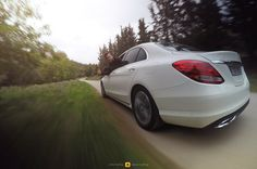 https://flic.kr/p/N88j4c | Mercedes-Benz C200d | It's so easy to drive the new Mercedes-Benz C-Class...