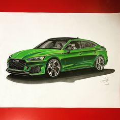 Audi - Alejandro Hernández - Draw to Drive Cool Car Drawings, Audi Rs5, Car Vector, Industrial Design Sketch, Hulk Marvel, Car Illustration, Car Sketch, Color Pencil Art, Sketch Design