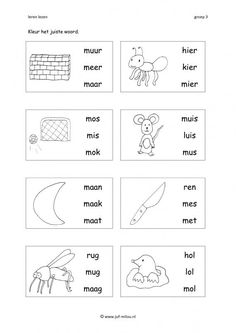 Tens And Ones Worksheets, 1st Grade Math Worksheets, Preschool Worksheets, Preschool Prep, Preschool Learning Activities, Free Preschool, Afrikaans Language, Learn Dutch, Basic Math