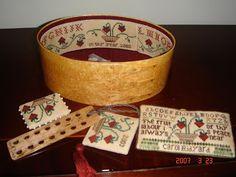 iStitch Needle Book, Needle Case, Stitch Box, Strawberry Summer, Cross Stitch Finishing, Sewing Accessories, Pin Cushions, Dog Bowls, Needlepoint