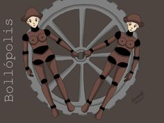 19/07/2017 - Bollópolis!   Un domingo perfecto para amar y dibujar! ;)  #manga #yuri #dyke #transdyke #cisdyke #lesbian #lez #torta #tortillera #bollo #bollera #lesbiana #steampunk #sketch #ilustration