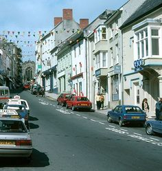 Haverfordwest, Wales in 1991.
