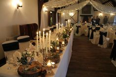 Flower Design Events: Venue The Great Hall at Mains