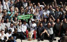 Nico Rosberg, Lewis Hamilton, Mercedes, Silverstone, 2014