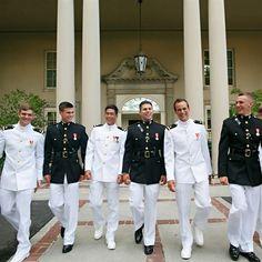 US Marines Groomsmen | Artstar by Laura Stone | Theknot.com
