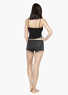 Ever wearboxer briefs to get comfy on your period? We can do you one better: the Boyshort has THINX protectionwithout sacrificing le classique elastic waistba