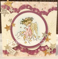 LOTV - Heavenly Christmas with Woodland Wishes Paper Pad and Christmas Sentiment Tags - Set 32 by Sue Hastead Christmas Angels, Christmas Cards, Christmas Sentiments, Woodland, Vintage World Maps, Lily, Thankful, Crafty, Heavenly