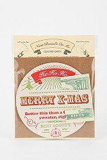 Holiday Card Coaster