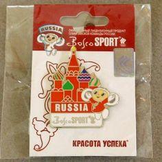Cheburashka Pin