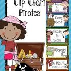 $3 Pirates - themed Behavior Clip Chart -  This clip chart is a wonderful behavior management tool. Children start off with their clips (clothespin...