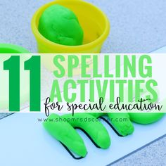 11 differentiated spelling activities for the special education classroom. This Kindergarten-level spelling curriculum will last you 36 instructional weeks and covers all of the sight words on the Pre-Primer and Primer Dolch word lists. Based on the ability levels of your students, place them in one of three differentiated levels and let my planning do the rest for you. This spelling curriculum is a systematic curriculum, so the students perform the same activities each week. Mrs. D's…