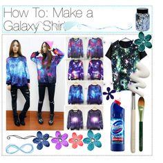 How to: Make A Galaxy Shirt
