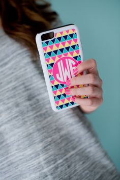 Monogrammed Phone Case