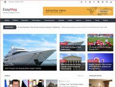 EasyMag - Free Magazine Style WordPress Themes