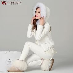 Cheap Down & Parkas on Sale at Bargain Price, Buy Quality Down & Parkas from China Down & Parkas Suppliers at Aliexpress.com:1,Thickness:Thick 2,Down Content:80% 3,Clothing Length:Short 4,Decoration:Feathers,Lace 5,sleeve length:long-sleeve