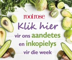 Rooi Rose | Tuis Eggplant, Sprouts, Competition, Salad, Vegetables, Rose, Recipes, Pink, Recipies