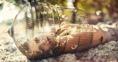Photography : Ezo Renier  #love #sad #cage #beautiful #grate #instagood #girl…