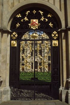 Gate, Oxford University, #England