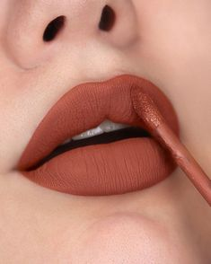 Mac Lipstick Shades, Best Lipstick Color, Perfect Lipstick, Best Lipsticks, Lipstick Colors, Makeup Lipstick, Makeup Cosmetics, Fall Lipstick, Matte Lipstick