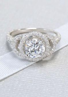 Custom Three-Tier Halo Diamond Engagement Ring | Joseph Jewelry | Bellevue | Seattle | Online | Designers of Fine Custom Jewelry