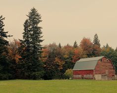 Check out A Barn in the Fall by Creatively Happy Studio on Creative Market