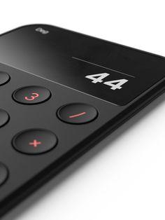 Just a calculator on Behance Design Tape, Web Design, Control Key, Bauhaus Design, Mobile Ui Design, Jobs Apps, Ui Inspiration, Minimal Design, Design Elements