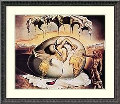 Geopoliticus Child Watching the Birth of the New Man, 1943 by Salvador Dali Framed