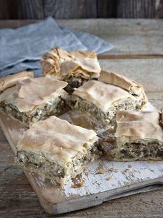 Cookie Dough Pie, Greek Recipes, Dessert Recipes, Desserts, Vegetarian, Baking, Breakfast, Ethnic Recipes, Food