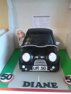 Tena lady 50th birthday cake Novelty Cakes Pinterest