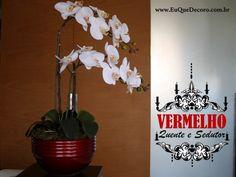 Para decorações práticas e de bom gosto: orquídeas de silicone que duram para sempre.