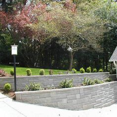 wall for driveway and side landscape architecturelandscape designretaining - Designing Retaining Walls