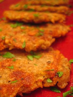 Vegan Potato Latkes (Potato Pancakes) from the cookbook Veganomicon