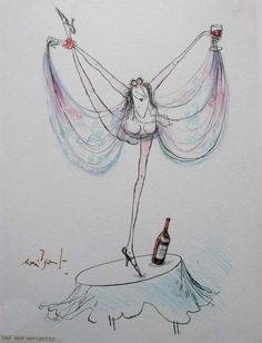 Ronald Searle - Gay and Sprightly