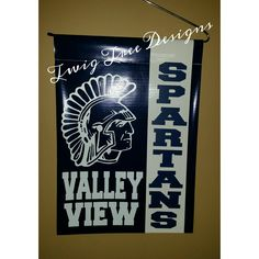 Valley View Spartan garden flags