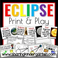Eclipse printable science pack