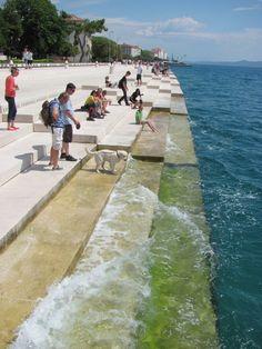 Nikola Basic: Sea Organ (in Zadar)