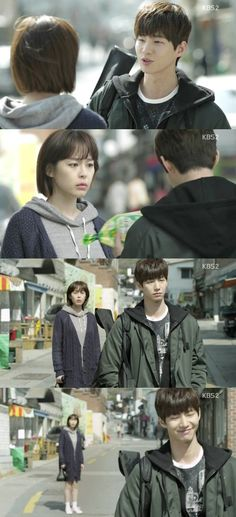 On the 11th episode of KBS 2TV's Wednesday & Thursday drama, 'Unkind Women', Jeong Ma-ri (Lee Ha-na) encountered Lee Roo-oh (Song Jae-rim) on her way home from grocery shopping, while she was holding a bag of bean sprouts. Lee Roo-oh handed a black plastic bag over to Jeong Ma-ri and said, 'Take mine. So don't you walk around with a naked bag of bean sprouts'.