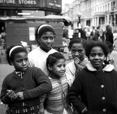 Passers by Finch's Pub Portobello Rd 1966