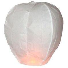 Luminarias Sky Lantern Color: White