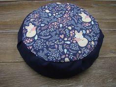 Zafu cover Yoga pillow without filler Fox Pillow, Pillow Fabric, Childrens Yoga, Meditation Pillow, Triangle Print, Fox Print, Cushion Filling, Tea Ceremony, Floor Pillows