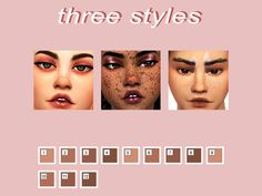 This is one of my first CC creations! Found in TSR Category 'Sims 4 Female Skin Details' Sims 4 Body Mods, Sims 4 Game Mods, Sims 4 Mm Cc, Sims Four, The Sims 4 Skin, Pelo Sims, The Sims 4 Packs, Sims 4 Cc Makeup, Sims4 Clothes