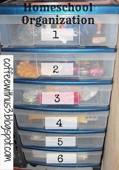 Preschool Prep: Organizing Space